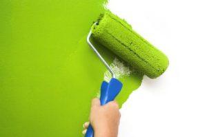 New site   Green Paintbursh